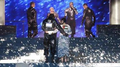 Το μήνυμα ειρήνης της Μαντόνα στον τελικό της Eurovision