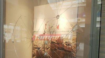 Καταδρομική επίθεση σε καταστήματα στην Πάτρα - Γυαλιά καρφιά επιχειρήσεις