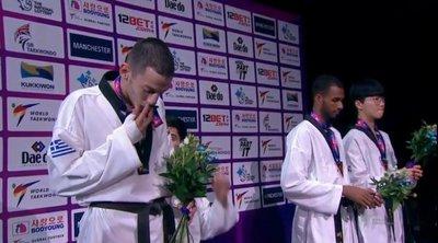 Τάε κβον ντο: Ασημένιος πρωταθλητής κόσμου ο Τεληκωστόγλου