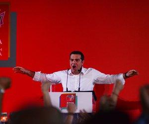 Τσίπρας: Την Κυριακή ψηφίζουμε για να μη γυρίσουμε ποτέ πίσω στις μνημονιακές πολιτικές