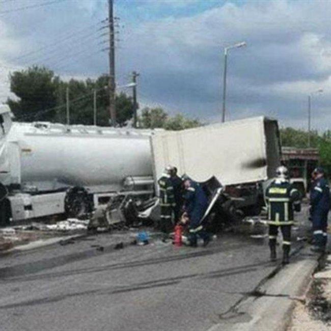 Συνελήφθη ο οδηγός που προκάλεσε το δυστύχημα με το βυτιοφόρο