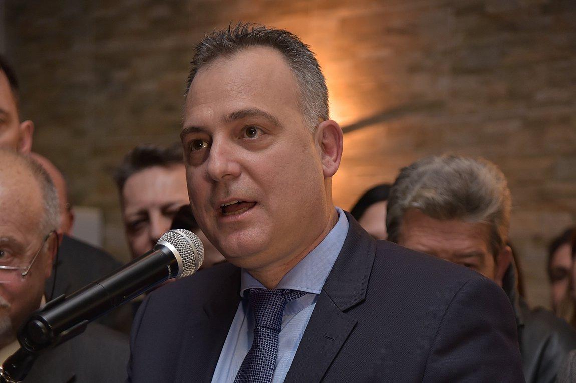Ο υποψήφιος δήμαρχος Αχαρνών, Χάρης Δαμάσκος