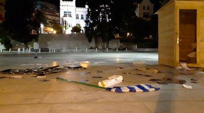 Καβάλα: Κατέστρεψαν με καταδρομική επίθεση εκλογικά περίπτερα κομμάτων
