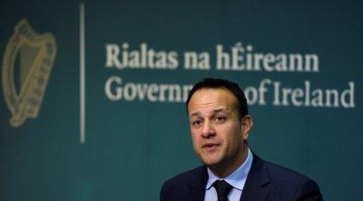 Βαράντκαρ: Στην Ιρλανδία πρέπει να μειώσουμε το ποσοστό αύξησης των κρουσμάτων στο 5%