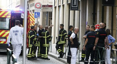 Βόμβα με καρφιά στο κέντρο της Λιόν με 8 τραυματίες - Την έρευνα ανέλαβε η αντιτρομοκρατική