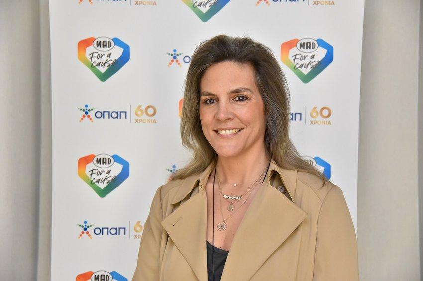 """Σάντρα Ζαφειρακοπούλου, Γενική Διευθύντρια """"Make-A-Wish"""" Greece"""