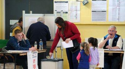 Τα exit poll στην Ιρλανδία έδειξαν ότι οι Πράσινοι αυξάνουν το ποσοστό τους