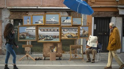 Έστησε πάγκο ο Banksy στη Βενετία