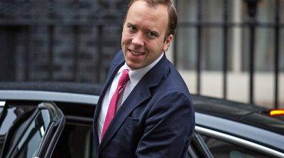 Βρετανία; Ο υπουργός Υγείας Ματ Χάνκοκ ανακοίνωσε την υποψηφιότητά του για την ηγεσία του Συντηρητικού Κόμματος