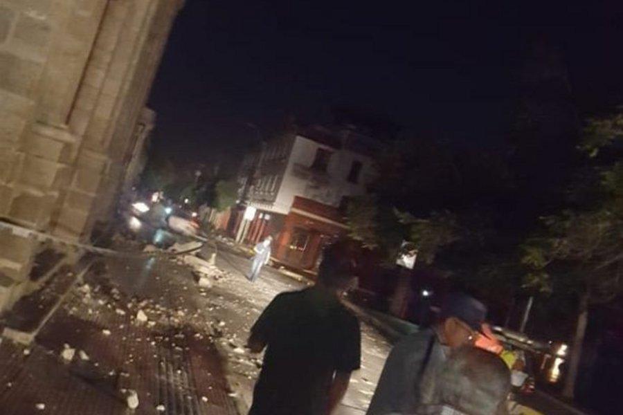 Tρόμος στο Περού από το χτύπημα του Εγκέλαδου
