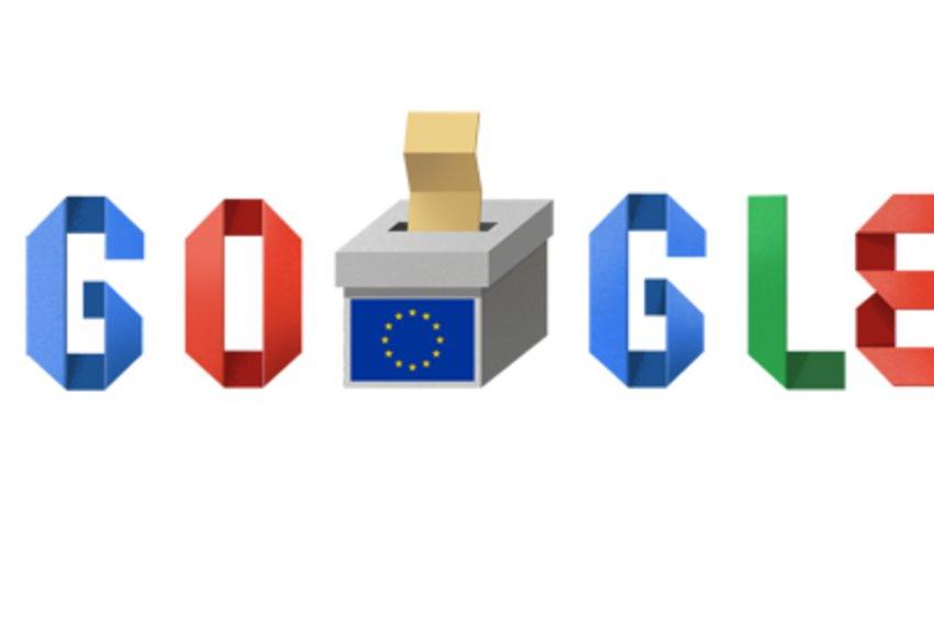 Αφιερωμένο στις ευρωεκλογές το doodle της Google