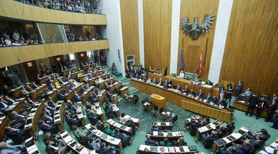 Αυστρία: Διακήρυξη υπέρ του πυρηνικού αφοπλισμού από τον Κουρτς, τον ΥΠΕΞ Σάλενμπεργκ και τους Σοσιαλδημοκράτες της αντιπολίτευσης