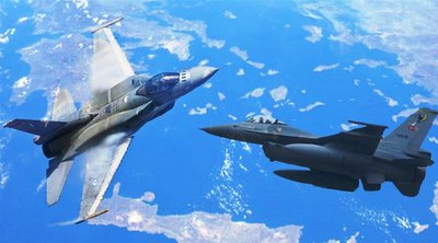 Συνεχίζονται οι παραβιάσεις και παραβάσεις από τους Τούρκους στον ελληνικό εναέριο χώρο