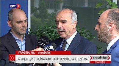 Μεϊμαράκης: Είναι ώρα μάχης εθνικών εκλογών - Από την πρώτη ημέρα είπα ότι μετέχω για τη φανέλα