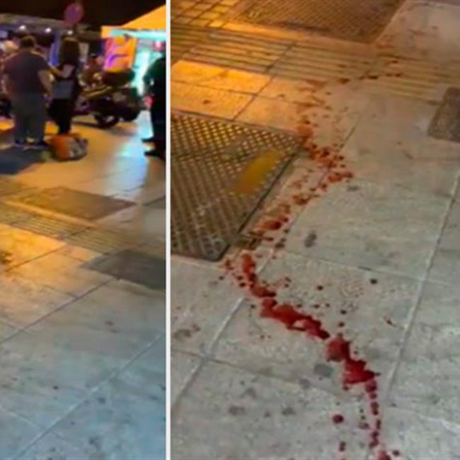 Αιματηρή απόπειρα ληστείας σε περίπτερο στο Σύνταγμα - Δύο τραυματίες