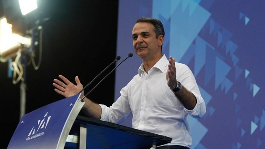 Μητσοτάκης από το Αίγιο: Είμαι εδώ για να ενώσω - Τι είπε για την υποψηφιότητά του στην Αχαΐα