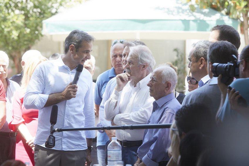 Μητσοτάκης: Ισχυρή εντολή την επόμενη των εκλογών μπορεί να οδηγήσει σε αυτοδύναμη Ελλάδα