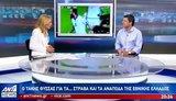 Ο Τάκης Φύσσας στον ΑΝΤ1 για την Εθνική Ελλάδoς και τις εκλογές