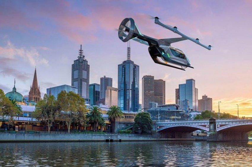 Έρχονται τα ιπτάμενα ταξί από την Uber - Πότε θα ξεκινήσουν οι πρώτες δοκιμές