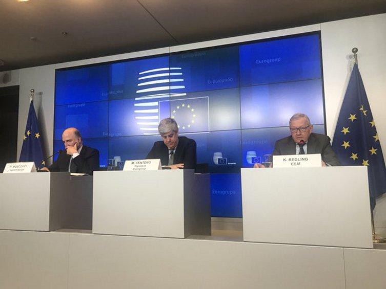 Το Εurogroup συμφώνησε επί των όρων αναφοράς για τον «προϋπολογισμό της Ευρωζώνης»