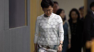 Χονγκ Κονγκ: Νέα συγγνώμη από την πρωθυπουργό - «Άκουσα τον λαό δυνατά και καθαρά»