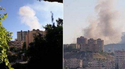 Ισχυρή έκρηξη στη Δαμασκό