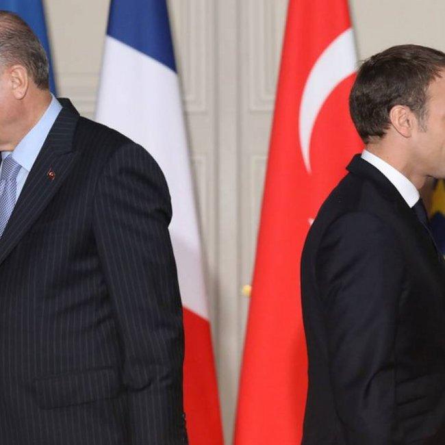 Επίθεση Ερντογάν σε Μακρόν: Με ποιο δικαίωμα μιλάει για την αν. Μεσόγειο;