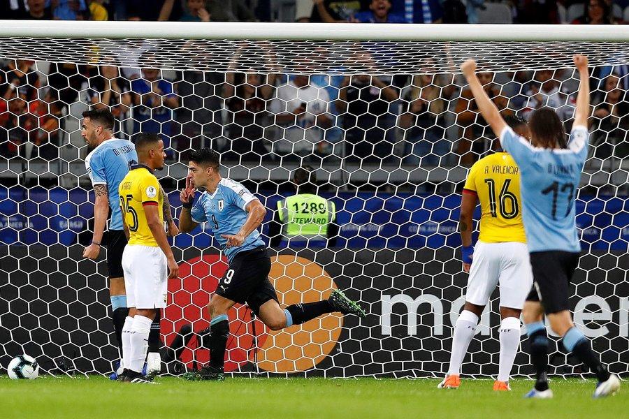 Copa America: H Oυρουγουάη συνέτριψε 4-0 τον Ισημερινό