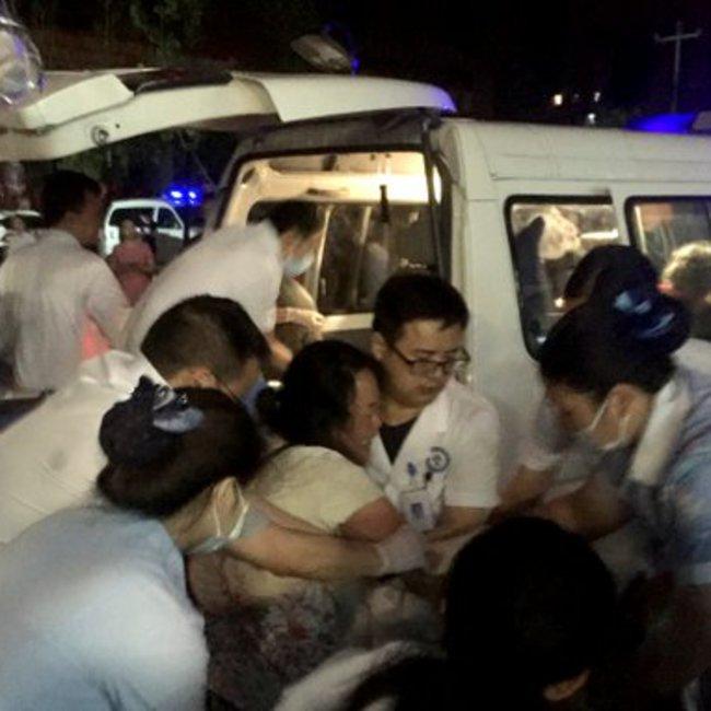 Εικόνες από τον φονικό σεισμό στην Κίνα - Αυξάνεται ο αριθμός των θυμάτων
