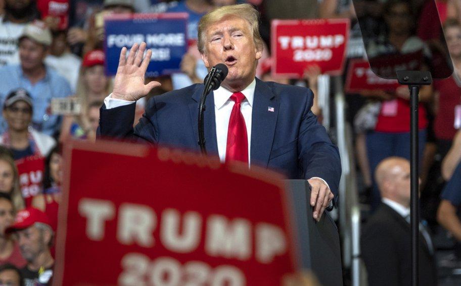 Υποψήφιος Πρόεδρος των ΗΠΑ και το 2020 ο Ντόναλντ Τραμπ
