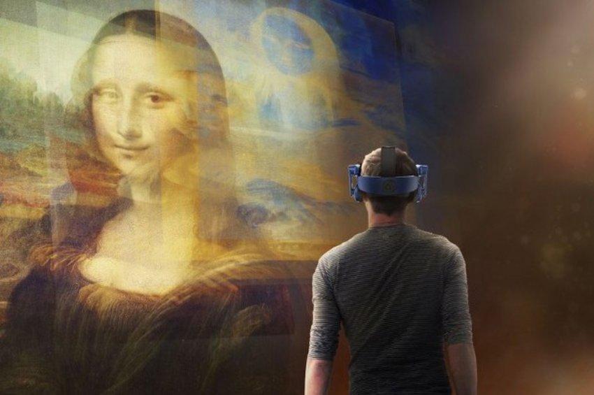 «Μόνα Λίζα: Πέρα απ' τον Καθρέφτη», μια εμπειρία εικονικής πραγματικότητας στο Λούβρο
