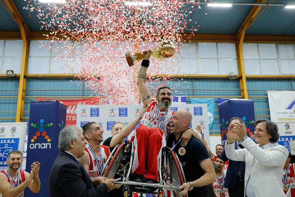 Η ομάδα της Δωδεκανήσου, νικήτρια του 22ου Πρωταθλήματος της ΟΣΕΚΑ