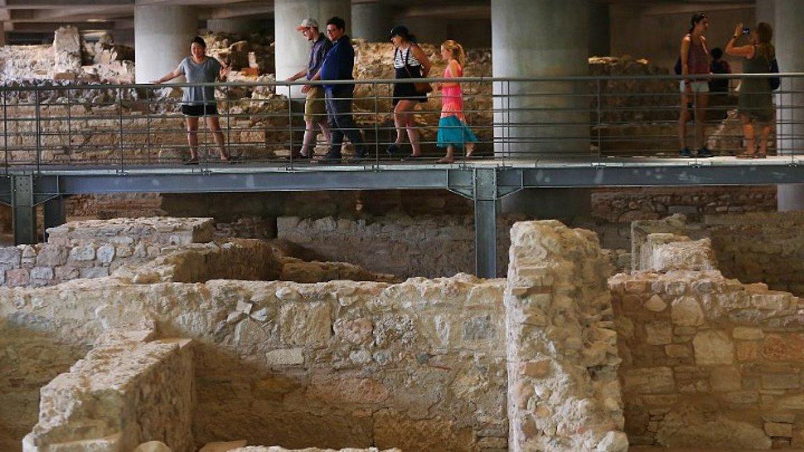 Image result for «Έναρξη» έκανε σήμερα η ανασκαφή του Μουσείου Ακρόπολης, που εφεξής θα είναι ανοικτή στο κοινό με το εισιτήριο της γενικής εισόδου.