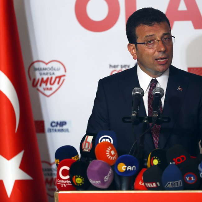 Νίκησε πάλι ο Ιμάμογλου στην Κωνσταντινούπολη - Τον συνεχάρησαν Ερντογάν και Γιλντιρίμ