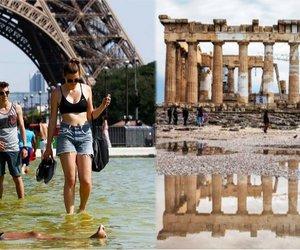 Πρωτοφανής καύσωνας στην Ευρώπη, άστατος καιρός με καταιγίδες στην Ελλάδα - Γιατί θα συμβεί αυτό