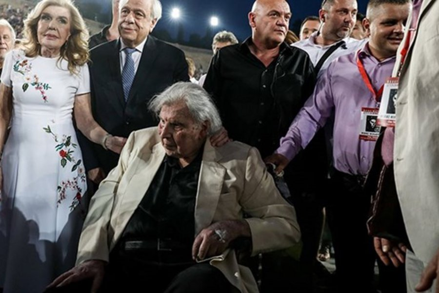 Μεγάλη συναυλία του Μίκη Θεοδωράκη στο Καλλιμάρμαρο παρουσία Προκόπη Παυλόπουλου
