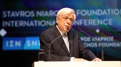 Παυλόπουλος: Οι Έλληνες είμαστε φτιαγμένοι από την ιστορία μας, να επιτυγχάνουμε μεγάλους στόχους