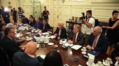 Ο Κατρούγκαλος ενημέρωσε τα κόμματα για τις εξελίξεις με την Τουρκία - Αιχμές από την αντιπολίτευση