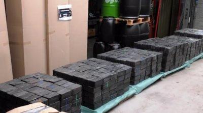 Ολλανδία: 2,5 τόνους μεθεμφεταμίνης κατάσχεσε η Αστυνομία