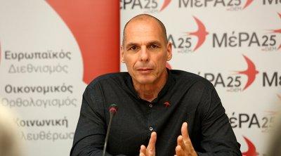 Βαρουφάκης: Το πρόγραμμα της ΝΔ και το πρόγραμμα του ΣΥΡΙΖΑ δεν μπορούν να εφαρμοστούν χωρίς ρήξη με τους δανειστές