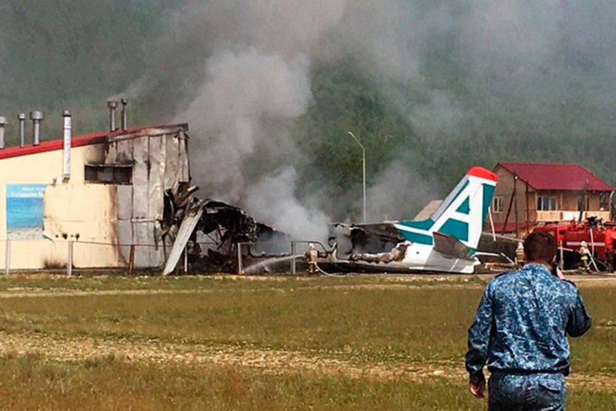 Ρωσία: Τραγωδία από αναγκαστική προσγείωση αεροσκάφους - Δύο νεκροί και 19 τραυματίες
