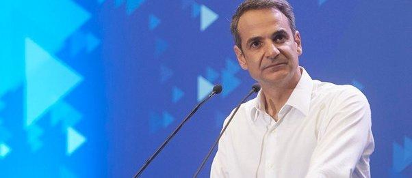 Μητσοτάκης: Από τις πρώτες πρωτοβουλίες της κυβέρνησης ΝΔ η αλλαγή του εκλογικού νόμου