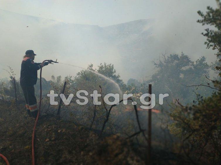 Συνέλαβαν 64χρονο για την φωτιά στην Εύβοια