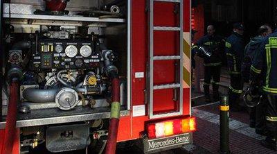 Πυρκαγιά σε σε παλιά εγκαταλελειμμένη αποθήκη στον Βοτανικό