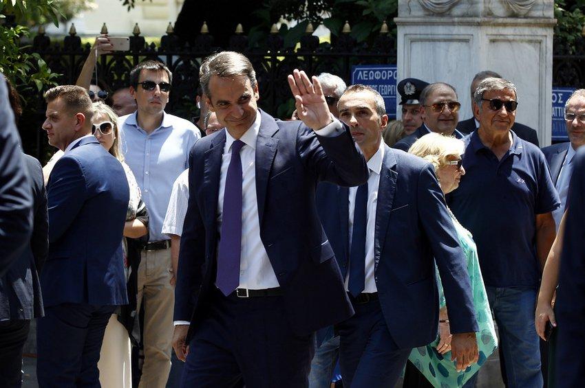 Η νέα κυβέρνηση Μητσοτάκη - Το μεσημέρι η ορκωμοσία