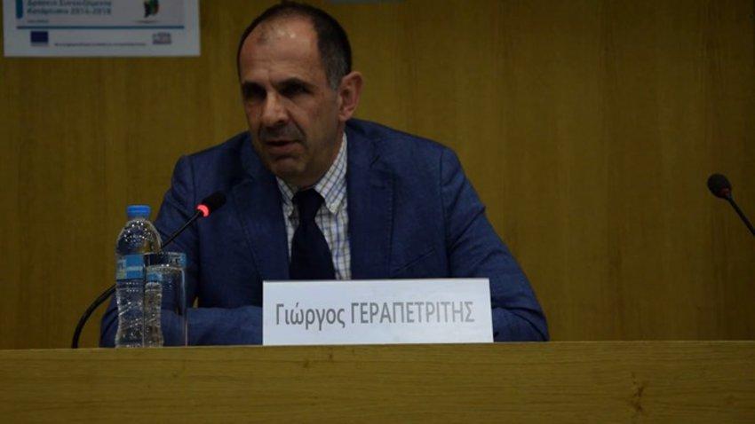 Ποιος είναι ο υπουργός Επικρατείας Γιώργος Γεραπετρίτης