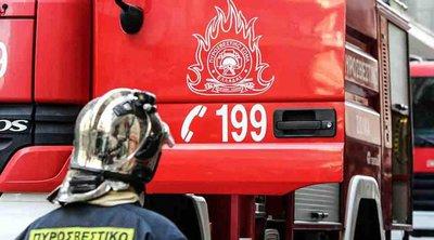 Πυρκαγιά στον Βαρνάβα