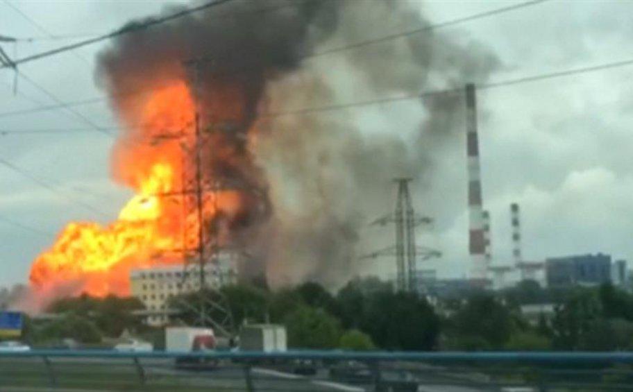 Μεγάλη φωτιά σε θερμοηλεκτρικό εργοστάσιο στη Ρωσία
