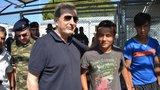 Θετικές εντυπώσεις Χρυσοχοΐδη για την αντιμετώπιση του προσφυγικού από τις υπηρεσίες