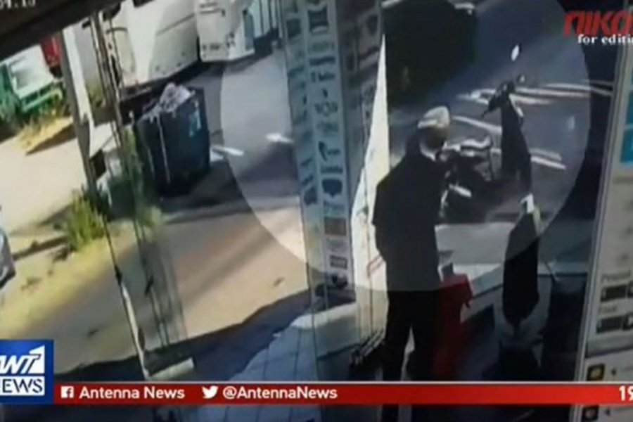 Βίντεο - ντοκουμέντο: Καρέ καρέ η κλοπή του αυτοκινήτου της ΕΛ.ΑΣ.